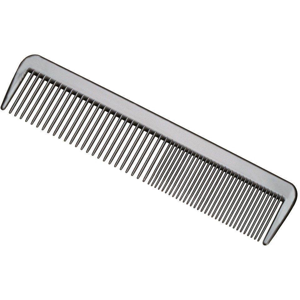 Pente Plástico De Corte Reto Com Dentes Mistos - 01 Ou 12 Unidades