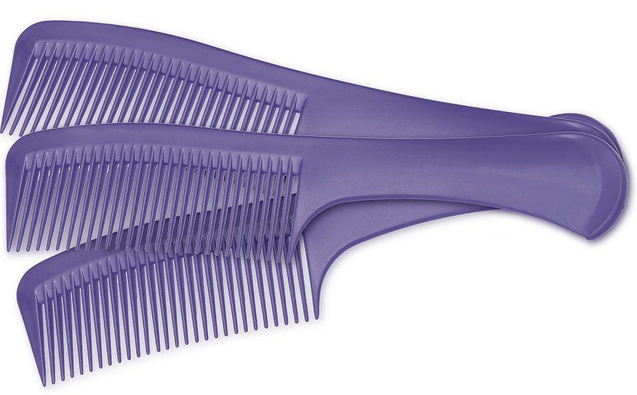 Pente Plástico Maravilha Lilás Suporta 180º - 01 Ou 12 Unidades