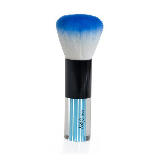 Pincel Para Maquiagem Bicolor - Blush Pó e Finalização