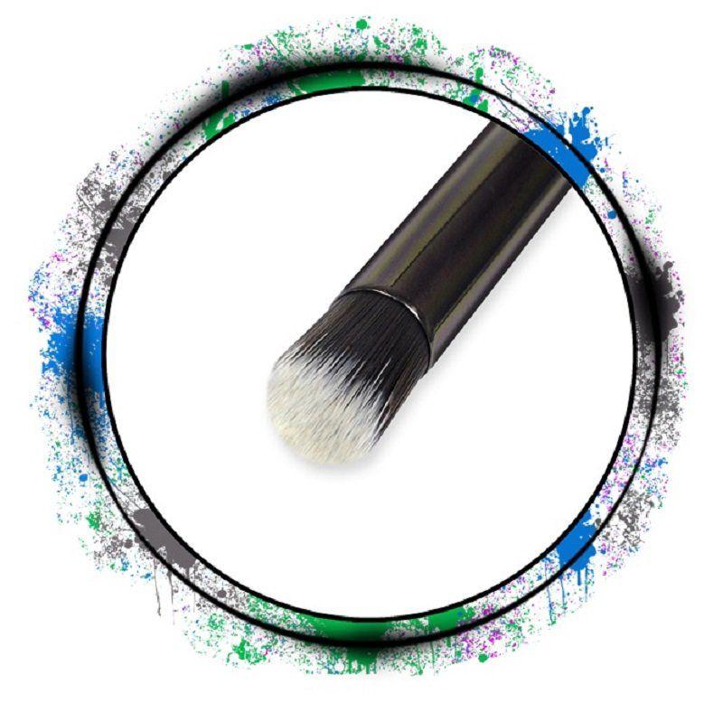 Pincel Profissional de Sombra Cerdas Arredondadas - Importado