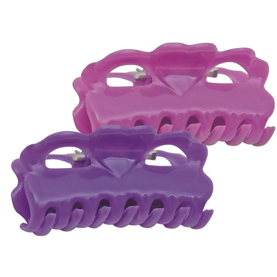 Piranha Larga Para Cabelos Modelo Infantil Ref PR-16 Com 20 Unidades