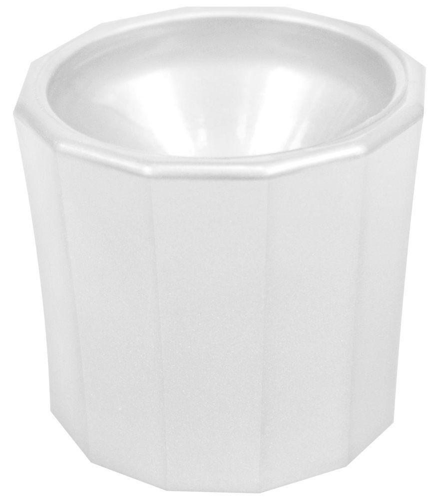 Pote Plástico Dappen Branco - Santa Clara