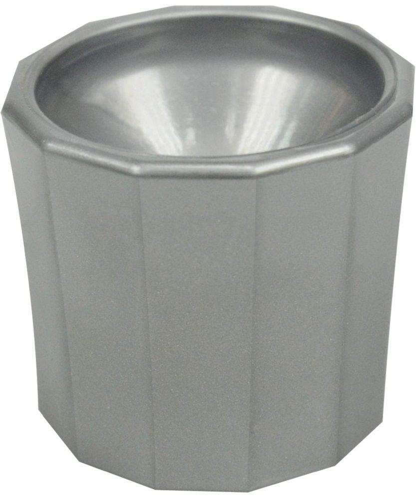 Pote Plástico Dappen Prata - Santa Clara