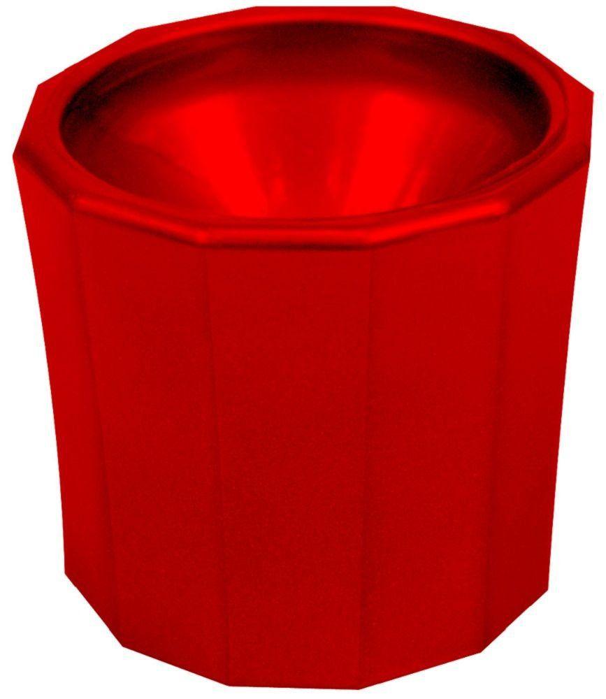 Pote Plástico Dappen Vermelho - Santa Clara