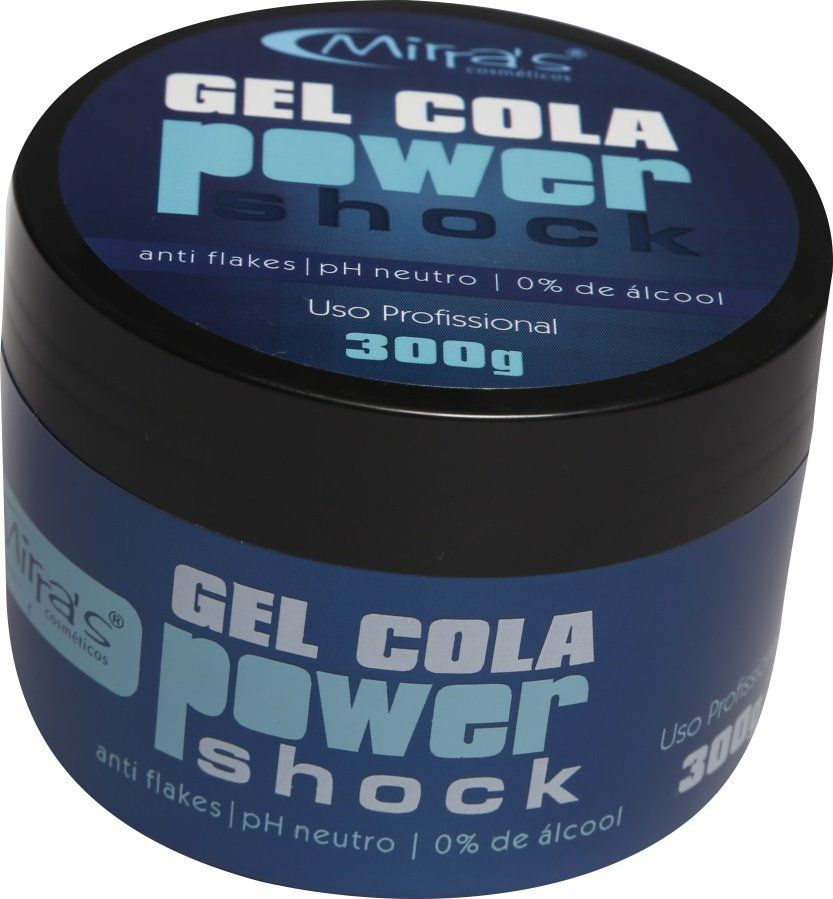 Power Shock Gel Cola 0% De Álcool 300gr - Mirra´s