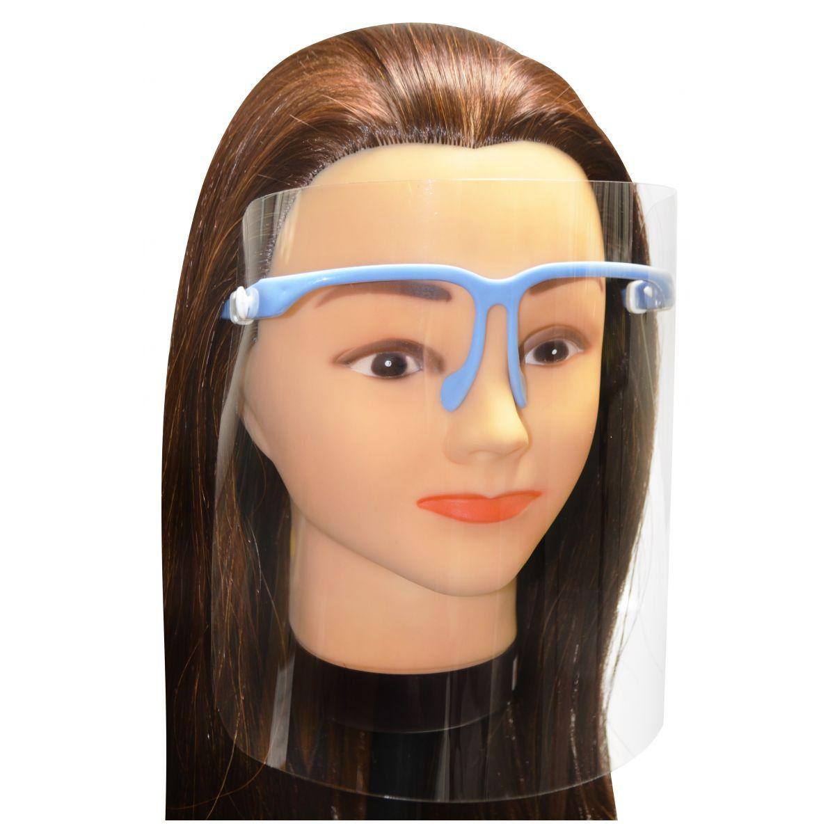 Protetor Facial de Plástico - Santa Clara