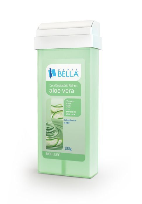 Refil de Cera Roll-on Aloe Vera Depil Bella