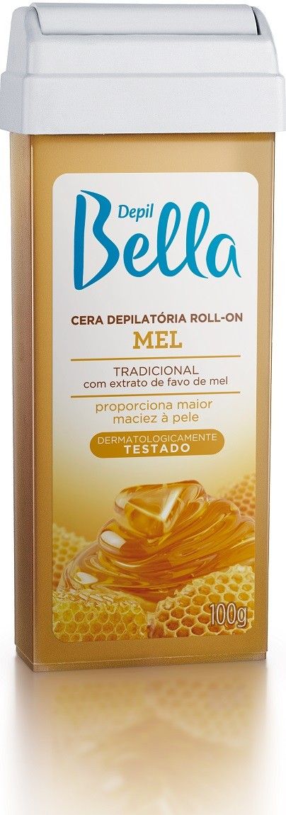 Refil de Cera Roll-on Depil Bella - Mel