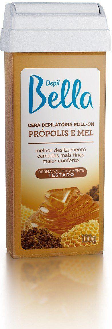 Refil de Cera Roll-on Própolis e Mel - Depil Bella