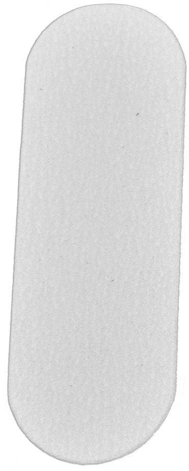 Refil De Lixa Fina Branca Para O Pé - Com 12 Unidades Santa Clara