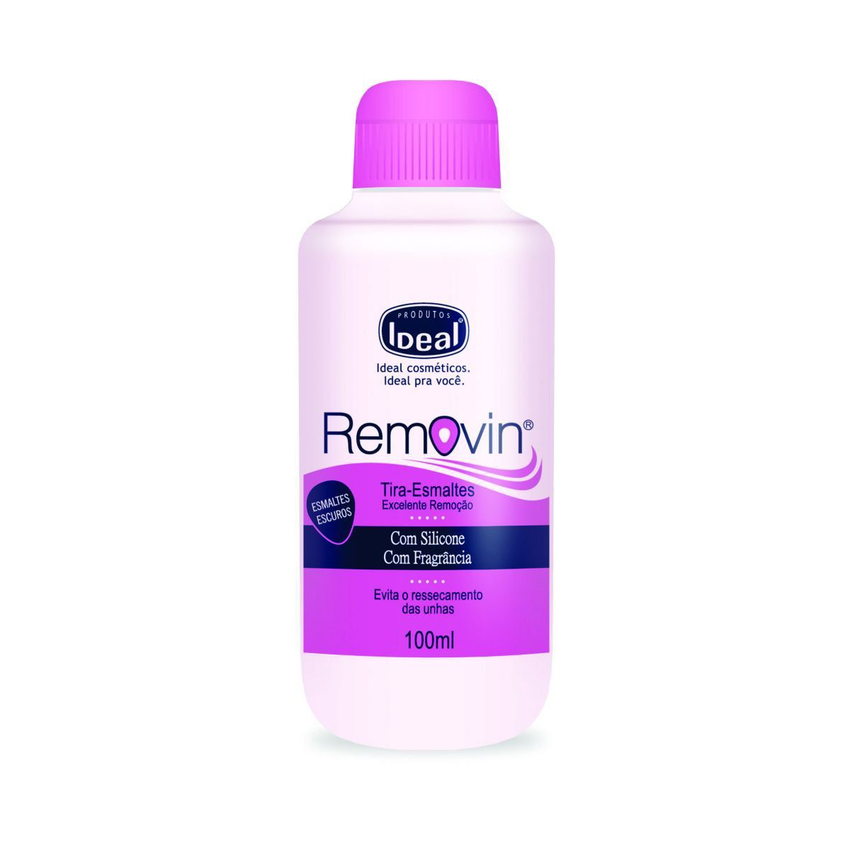 Removedor Tira Esmaltes Removin 100ml - Ideal