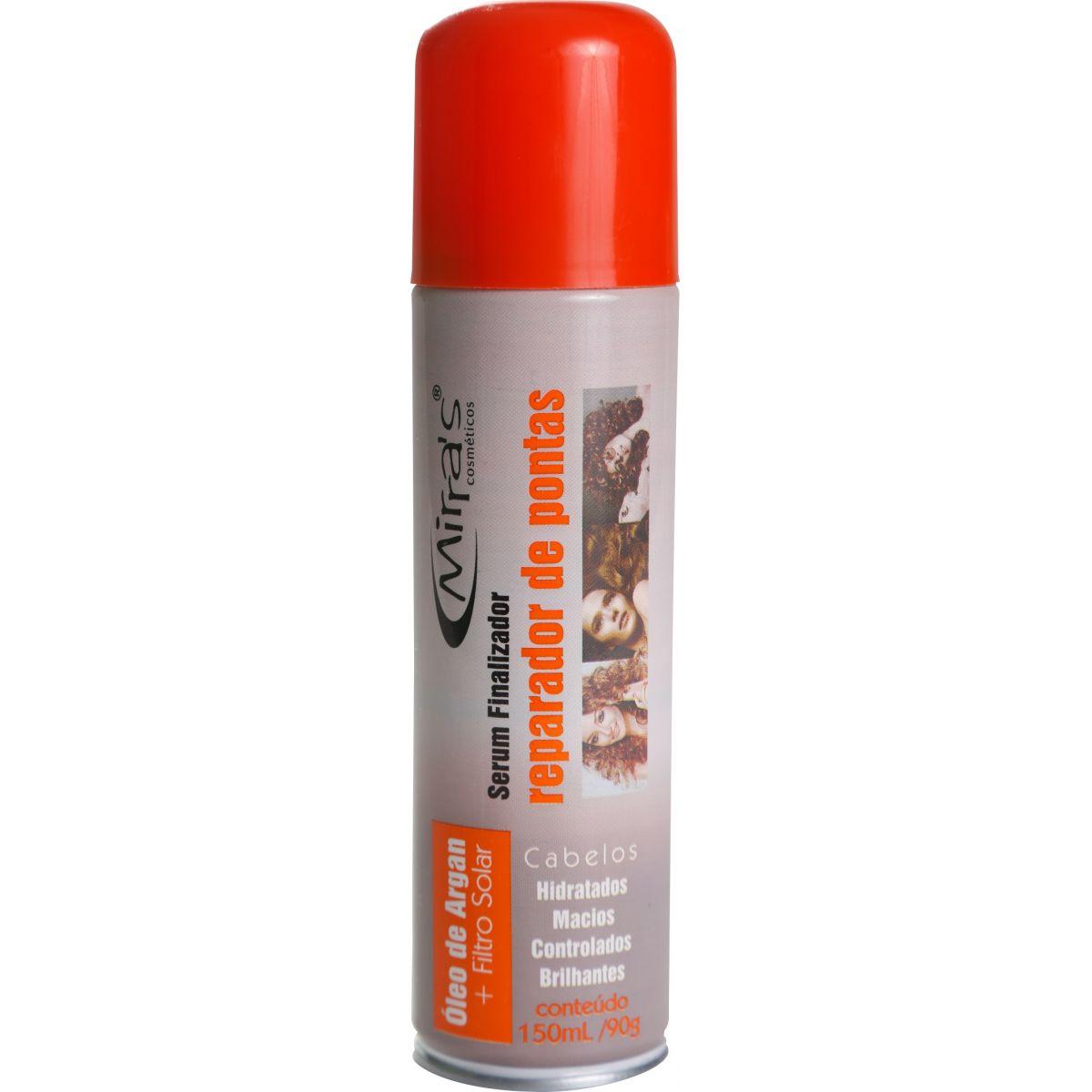 Reparador de Pontas em Spray para Cabelos Óleo de Argan - Mirra´s