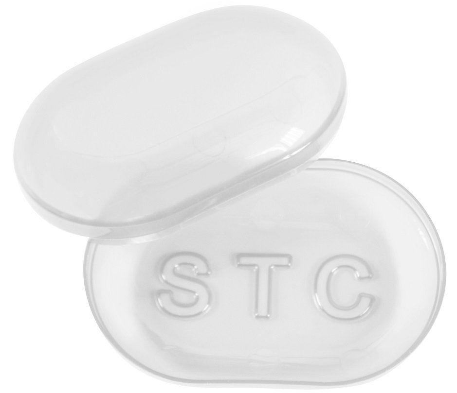 Saboneteira Cristal Oval STC - 01 Unidade Santa Clara