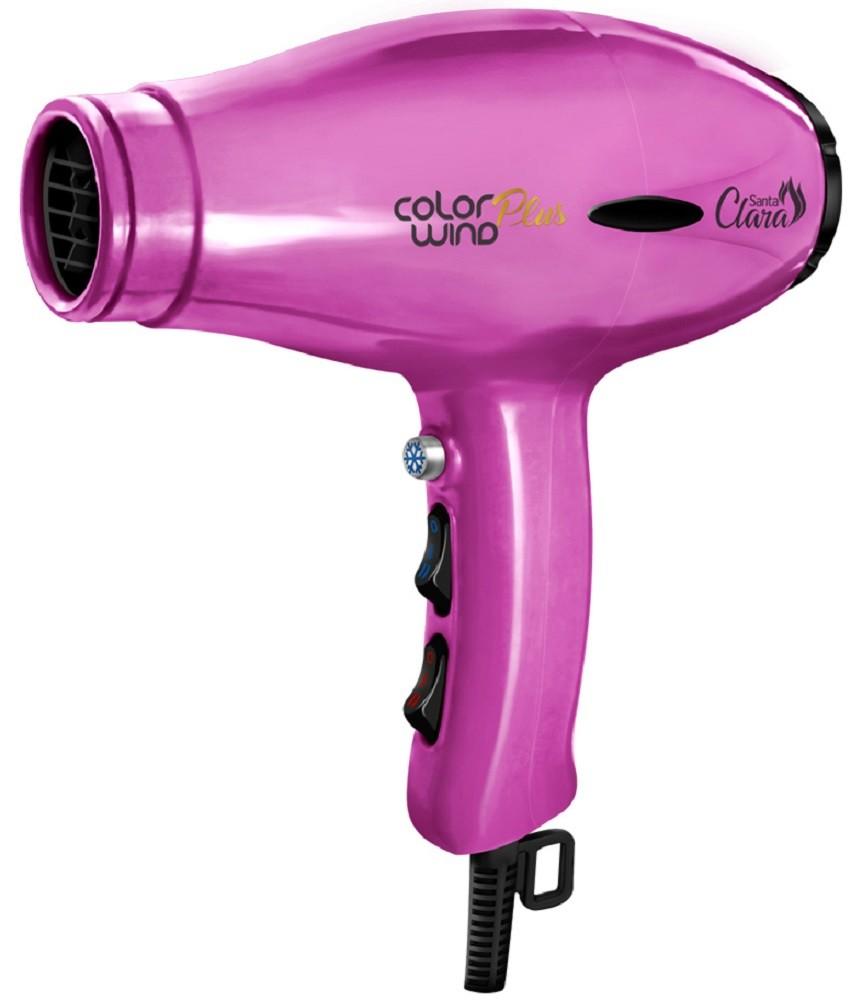 Secador de Cabelo Pink Color Wind Plus 2400watts - Santa Clara