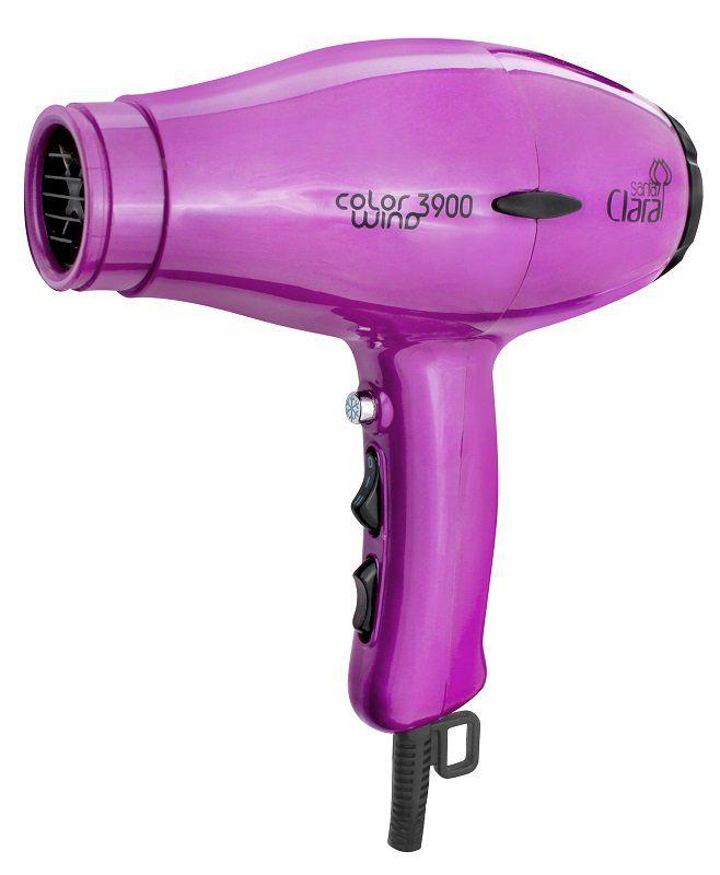 Secador De Cabelos Profissional Color Wind Santa Clara - 2100watts Pink 220v