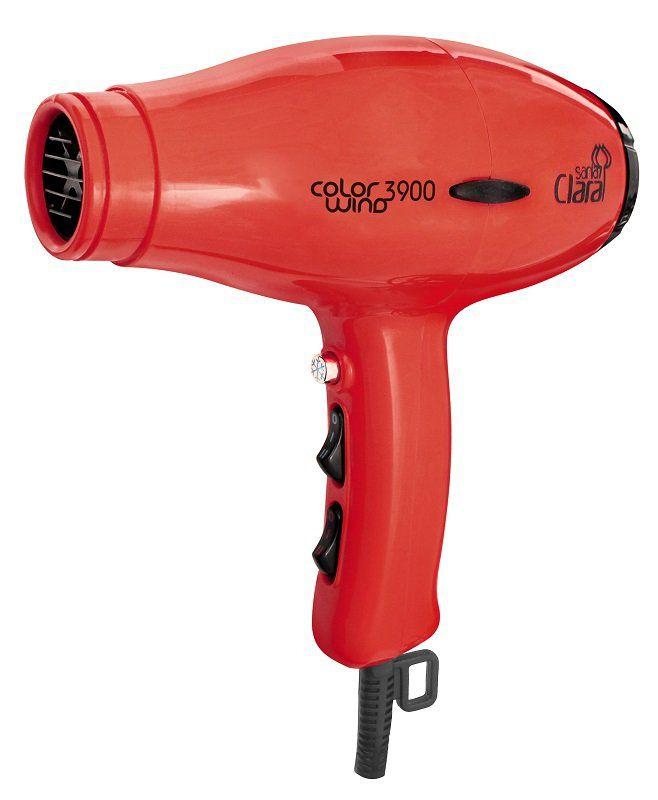 Secador De Cabelos Profissional Color Wind Santa Clara - 2100watts Vermelho 110v