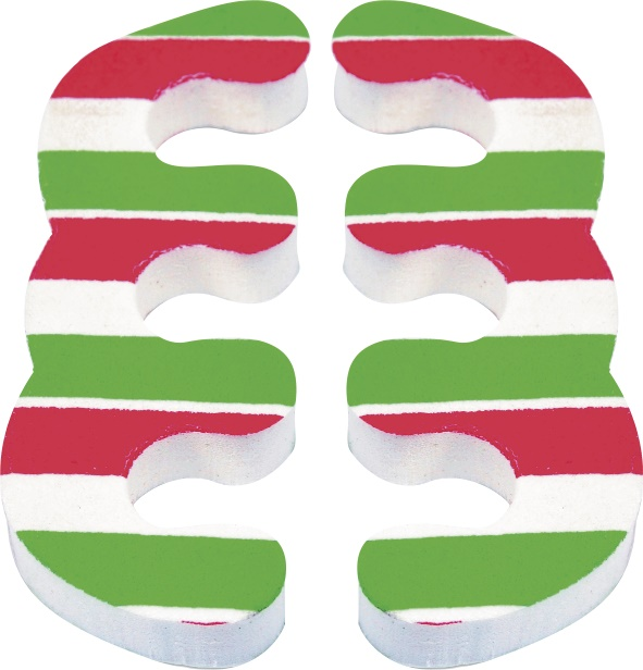Separador De Dedos E.V.A Estampado Para Os Pés - 02 Unidades