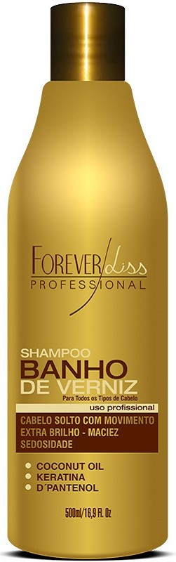 Shampoo Banho de Verniz 500ml – Forever Liss