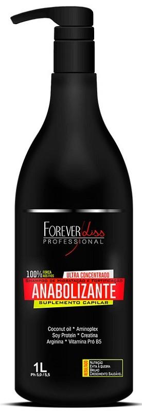 Shampoo de Hidratação e Fortificação Anabolizante 1L – Forever Liss