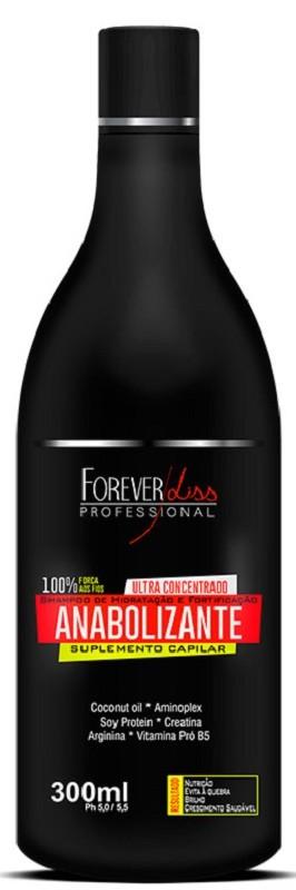 Shampoo de Hidratação e Fortificação Anabolizante 300ml – Forever Liss