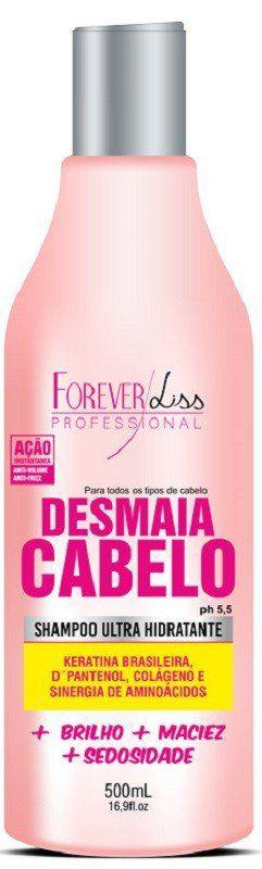 Shampoo Desmaia Cabelo 500ml – Forever Liss