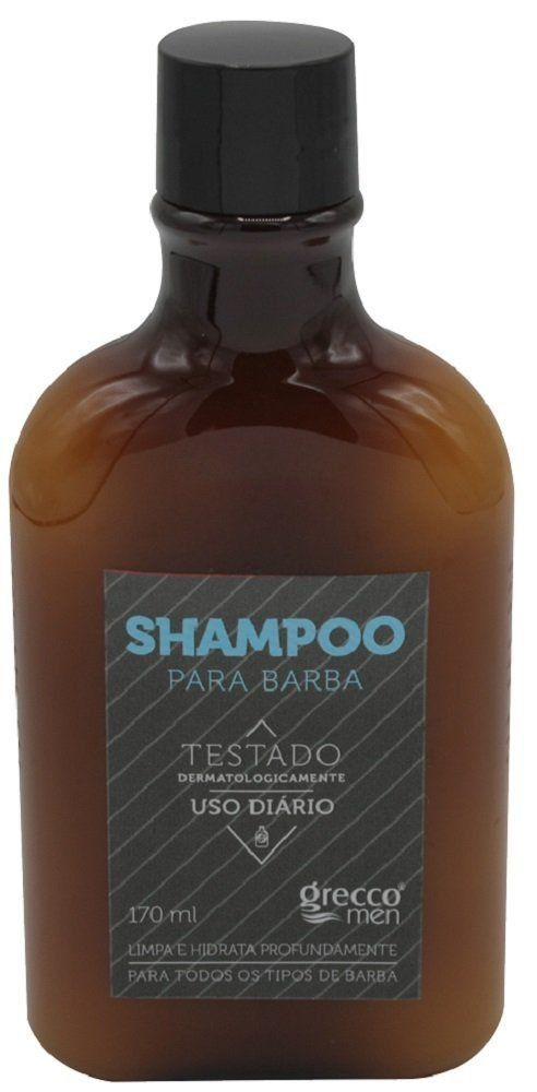 Shampoo Para Barba 170ml - Grecco Men