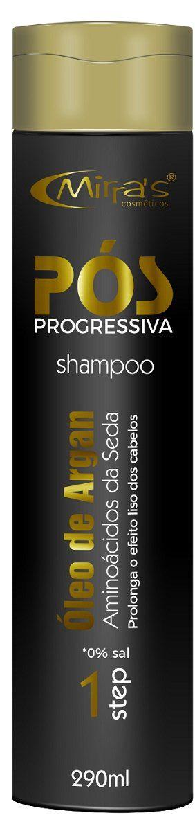 Shampoo Pós Progressiva Óleo de Argan 290ml - Mirra's