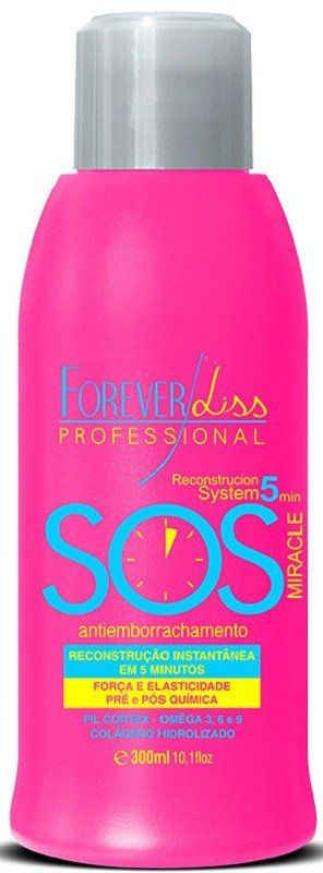SOS Antiemborrachamento Reconstrutor 300ml - Forever Liss