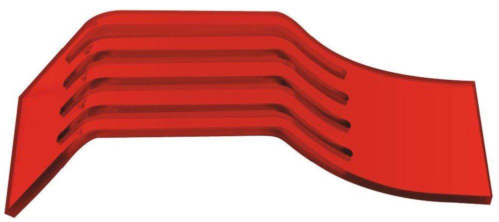 Suporte Acrílico 3mm Vermelho Para Pentes Finos - Santa Clara