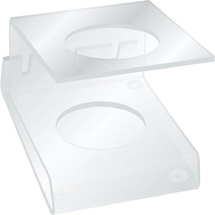 Suporte Acrílico 5mm Transparente Para Máquina de Corte - Santa Clara