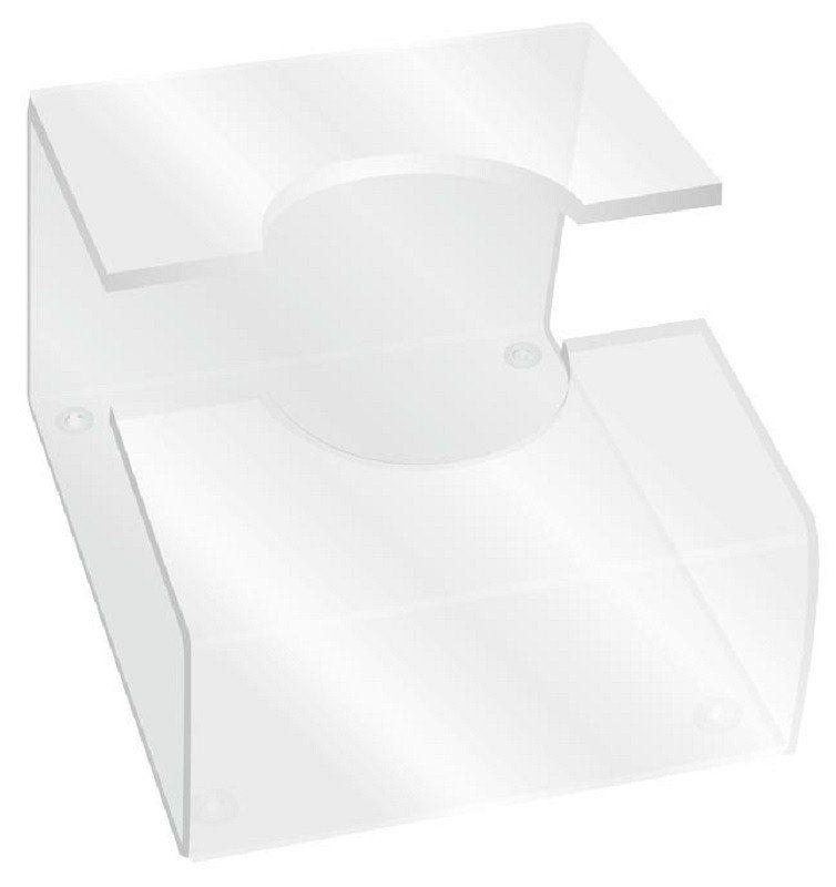 Suporte Acrílico 5mm Transparente para Prancha/Chapinha - Santa Clara