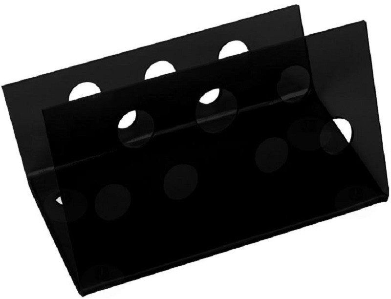 Suporte Acrílico Preto 3mm Para Tesouras Modelo Horizontal - Santa Clara