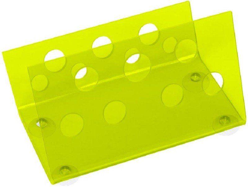 Suporte Acrílico Verde Limão 3mm Para Tesouras Modelo Horizontal - Santa Clara
