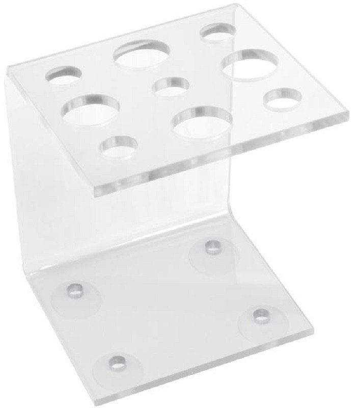 Suporte Acrílico Transparente 3mm para Tesouras Modelo Vertical - Santa Clara