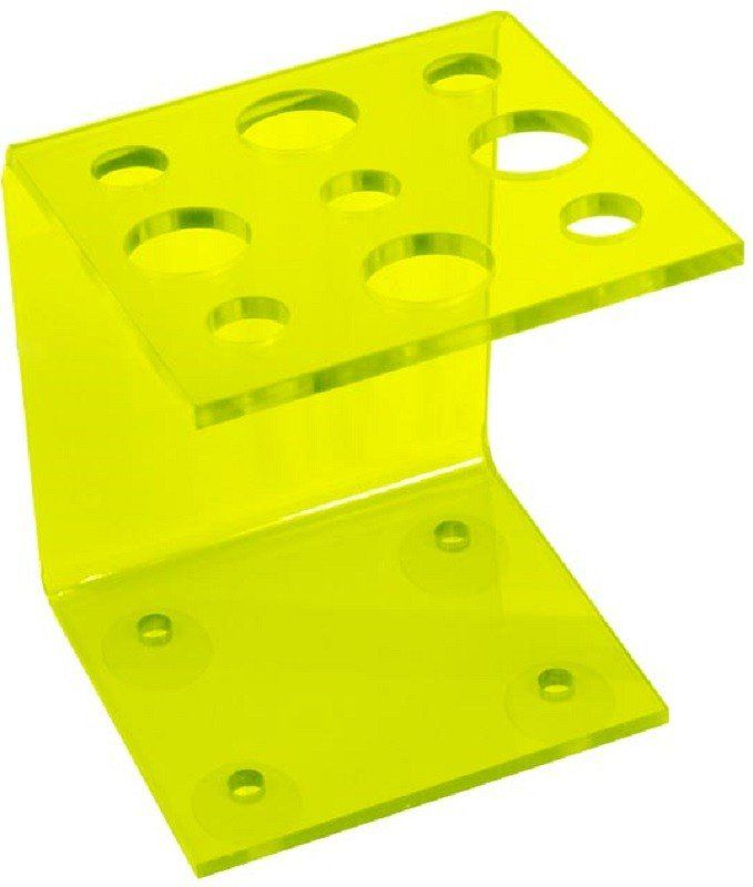 Suporte Acrílico Verde Limão 3mm para Tesouras Modelo Vertical - Santa Clara