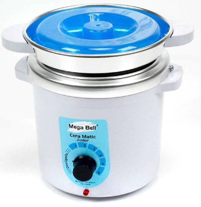 Termocera Aquecedor de Cera Junior 400g  Bivolt - Com refil Branca com Azul
