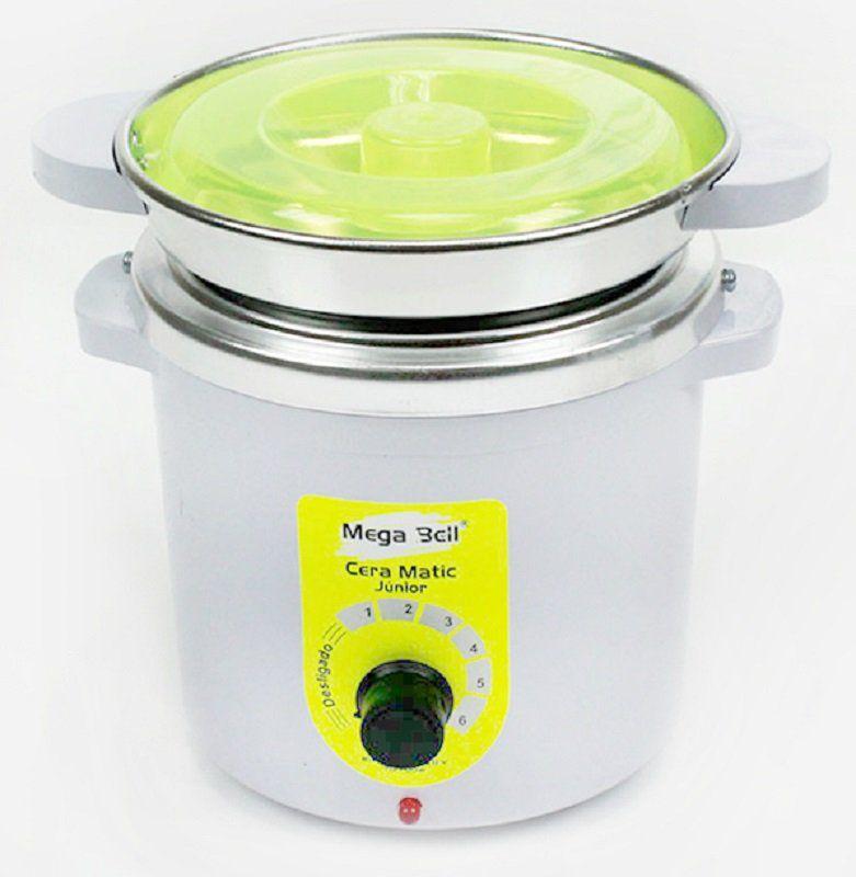 Termocera Aquecedor de Cera Junior 400g  Bivolt - Com refil Branca com Verde Limão
