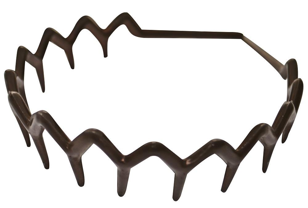 Tiara Com Dentes Grandes Lisa TA-08L - Com 01 Ou 12 Unidades