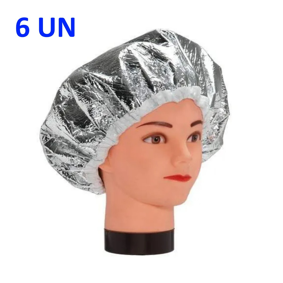 Touca Metalizada com Isolmanta 6 UN Prata - Santa Clara
