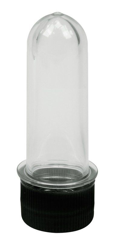 Tubo de Ensaio Transparente Pequeno 8,5cm - Santa Clara