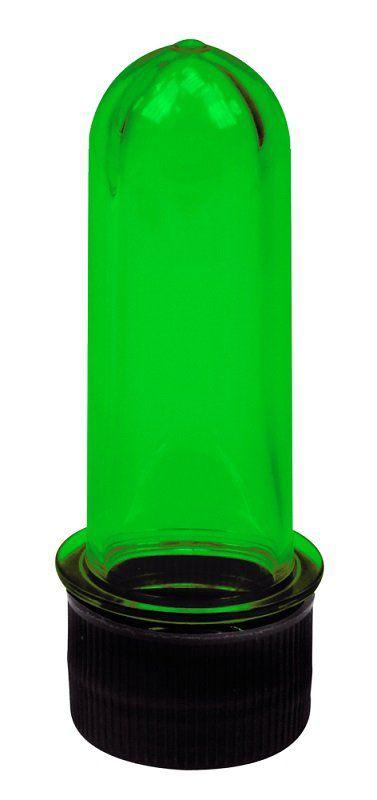 Tubo de Ensaio Verde Pequeno 8,5cm - Santa Clara