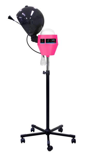 Vaporizador Capilar Com Timer Mega Bell - Vaporale Vapor Capilar Rosa 220v