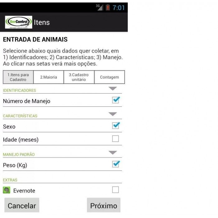 BovControl - Controle Digital de Rebanho Bovino no Celular