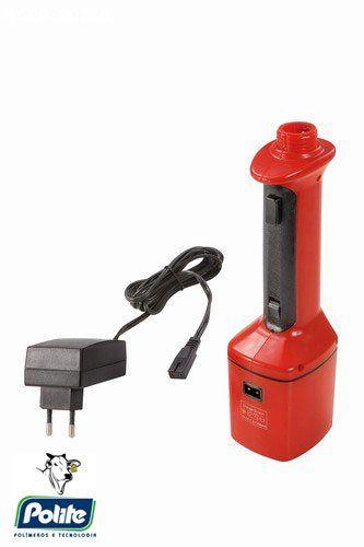 Picana Elétrica com Pulsante 84 cm Bateria RECARREGAVEL HASTE  58 cm