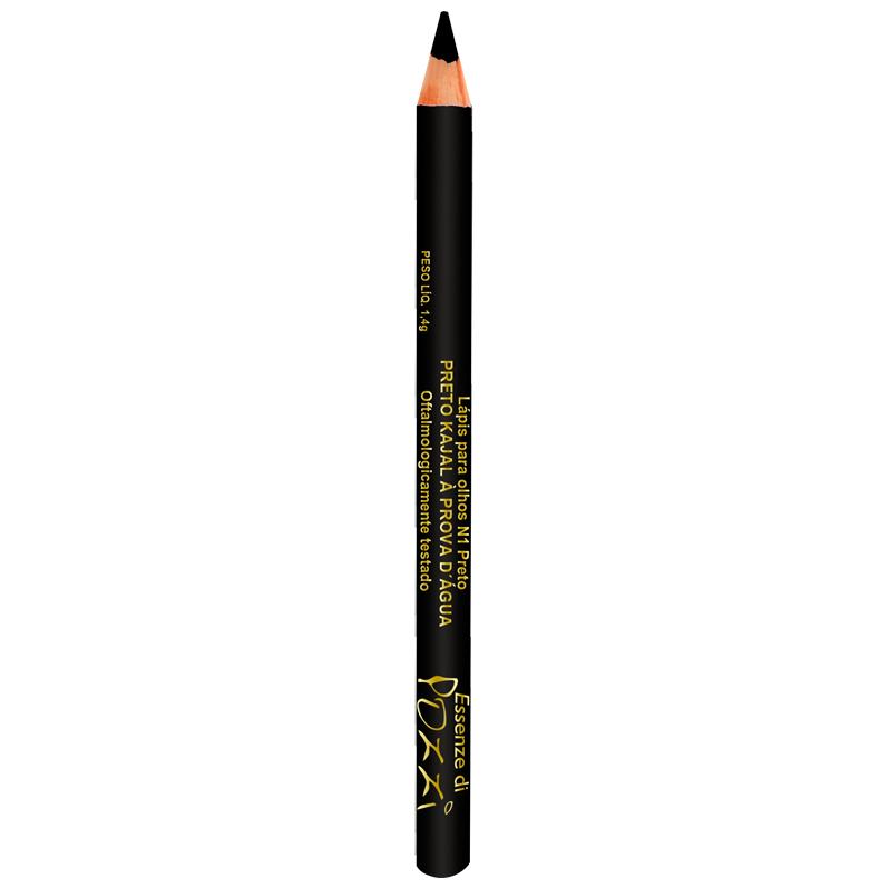 Lápis para Olhos Lápis Kajal à prova d´água Nº1  - Essenze di Pozzi