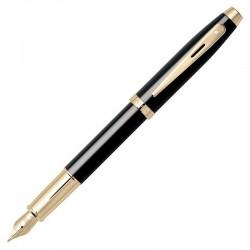 Caneta Sheaffer Gifty 100 Tinteiro Laca Preta com detalhes dourado E0932253-30