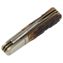Canivete Rough Rider Barlow Stag Bone 8,4 cm RR1806