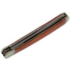 Canivete Rough Rider Orange Bone Razor Trapper 10.5 cm RR073