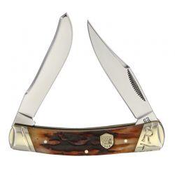 Canivete Rough Rider Small Moose Stag Bone 8,8 cm RR1795