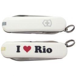 Canivete Victorinox Classic Edição Limitada I Love Rio 7 funções 5.8 cm 0.6223.7RIO3